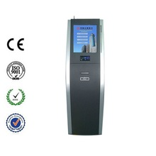 Classic payment kiosk with bill& coin acceptor,camera,selfservice terminal,tailored enclosure to hold different parts needed