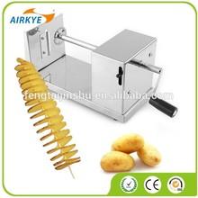 New Stainless Steel Spiral Potato Chips Slicer Twister Vegetable Cutter