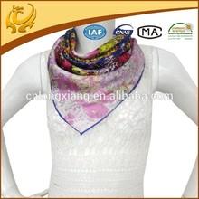 ODM custom real material casual scarf shawl muslim