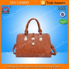 The new female bag portable lady handbags fashion shoulder bag wholesale PU bag
