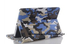 Camouflage Pattern Leather Case for iPad Mini Military Style CS Luxury with Wake Up and Sleep Model Hard Cover for iPad Mini