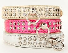 Fashion Diamond Leather Pet Collar Pet Dog Collar PCO-ZH7