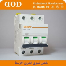 mini circuit breaker plug in mcb circuit breaker dz47-60