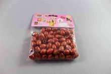 Best sell round craft wooden beads design amusement park crafts