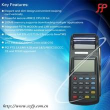 eft handheld mobile wireless restaurant ordering terminal