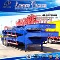 Prix concurrentiel 40-60ton 3 extensible. essieu remorque surbaissée/faible 5760 camion semi remorque/garçon. camion. semitrailer faible