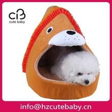 lion design luxury cat bed