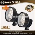 De calor innovadoras- diseño del fregadero!!! 36w led de luz de trabajo 36w cree led lámparas de trabajo
