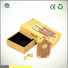UK alibaba express rechargeable chainsmoker mod 18650 box mod vapor flask