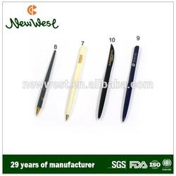 Hotel restaurant supplies, high-quality plastic ball pen, metal ball pen, pencils
