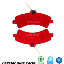 used car parts front disc brake pad auto part chery tiggo hi-q brake pads