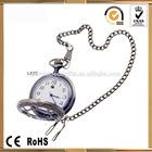 Fashion Roman numeral cased Japan Movement quartz watch antique pocket watches
