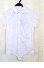HIJ-14-LB-12-009 White woman blouse with panties