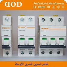 c45 4P circuit breaker switch has above 4000cycles electro-mechanical endurance. indoor circuir breaker
