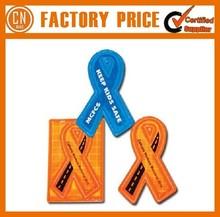 Promotion Logo Cheap Custom Reflective PVC Keychain