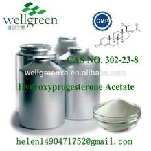 high quality api 99% 17 a - hydroxyprogesterone acetate wholesale steroids