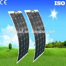 Mono 50W flexible solar panel solar cell in solar panel