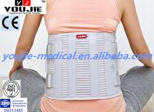 Optional Size Six Plates Support Lumbar Waist Decompression Belt