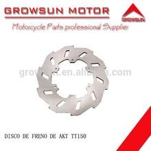 Disco de freno de refacciones de motocicleta para AKT TT150