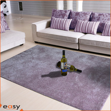 Fresh purple sense traditions textiles polyester shag tapis
