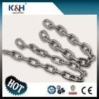 Good selling standard welded DIN 763 Round Steel Link Chain 11*72
