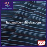 black white stripe 4 way stretch fabric