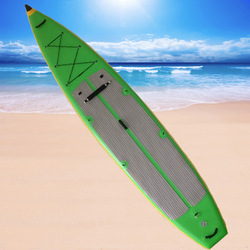 12 feet foldable green paddle board inflatable