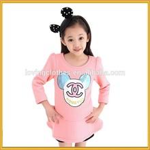 children wear clothing factory Lovely Girl Fashion T-shirt ,Girl T-shirt for Spring, Baby Girl T- Shirt Wholesale