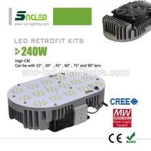 240W led shoebox light IP65 Parking & Area Light Shoe Box LED Retrofit Kit