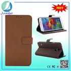 Original custom leather business card holder metal case for samsung galaxy s5