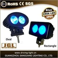 WT62R-B 20w manufacturer blue point work light blue light forklift blue light machine