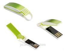plastic USB pen drives metal , mini USB sticks for premium gifts