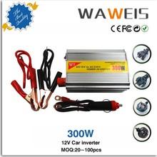 High quality 12 volt power inverter 12v to 220v 300W for CD player