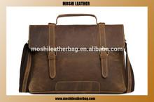 China Wholesale Mens Leather Laptop Bag Genuine Leather Bag