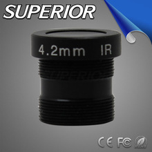 2.0 MP night vision optical sight focus length 4.2mm aperture F1.6 Fixed iris M12 mount Board Lens for ip cctv camera