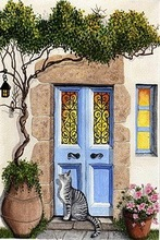 European decorating art painting