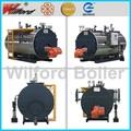 de gas de la caldera de vapor industrial caldera de vapor sobrecalentado