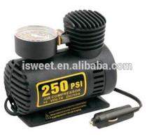 NEW Portable Mini Air Compressor Electric Tire Infaltor Car Pump 12 Volt 250 PSI