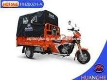 Heavy loading three wheel motorcycle with tarplin