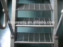 Hebei Anping metal outdoor stairs-stair tread-building steel grid plate-stair tread