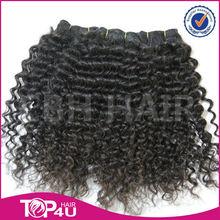 Wholesale 2015 high quality 100% full cuticle peruvian deep curly wavy hair