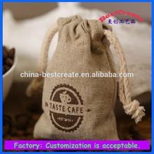 100 % Jute biodegradable burlap coffee bags wholesale