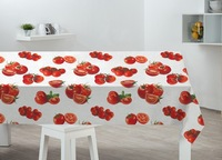 Elegant easy wipe PVC dining table covers ,waterproof table cloth ,100% vinyl table cloth