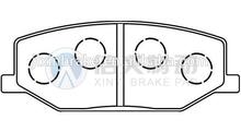 Auto spare parts suzuki samurai brake pads for sale in dubai