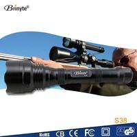 long range self defence strong light flashlight