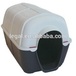 plastic dog kennel/direct factory wholesale beautiful custom pet house