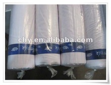 """100% Polyester Bleached White Fabric For 45x45 96x72 44/45"""" drill singeing crepe 100% cotton 20x16 120x60 186T 100gsm 63"""""""