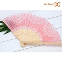 sweet pink wedding hand fans bulk