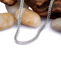 stainless steel chain necklace designs fashion dollar chain necklace