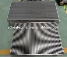heavy equipment oil cooler core, plate heat exchanger, air to air heat exchanger